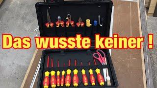 Das MUSST du wissen | Werkzeug für Elektriker | Ausbildung zum Elektroniker #2