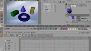 Tip06 Selection Object in CINEMA 4D