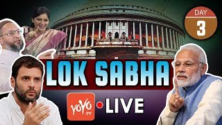 LIVE : Lok Sabha LIVE | PM Modi Parliament Winter Session 2019 | Day 3 | 20-11-2019 | YOYO TV LIVE
