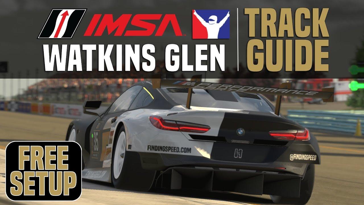 Finding Speed: iRacing track guide IMSA GTE @Watkins Glen