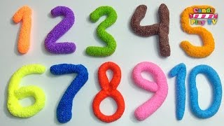 Learn To Count make Numbers with Play Doh | Learn To Count with Playdough | Learn Colors Collection