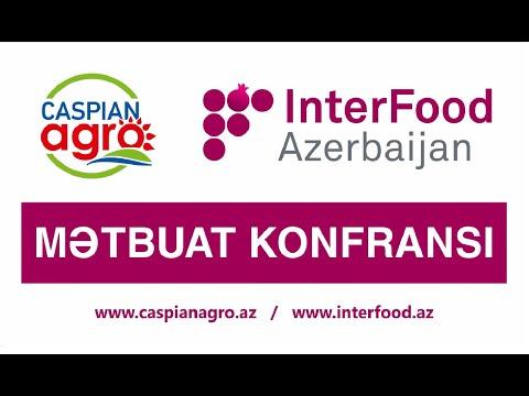 caspianagro Пресс-конференция, посвященная выставкам Caspian Agro..