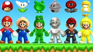 New Super Mario Bros. Wii - All New Power-Ups