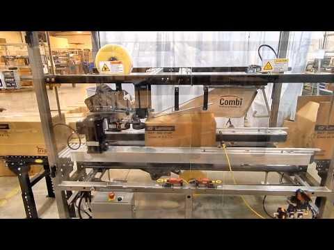 Selladora de Cajas TBS-100 FC XL para Cajas Corrugadas de Doble Pared