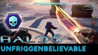 Halo 5: Guardians - Unfriggenbelievable with Blood of Suban/Halo 2 BR/Sniper/Prophet's Bane - dooclip.me
