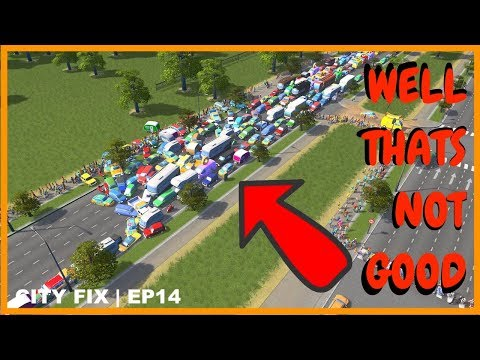Traffic Clusters Like This Hurt My Head | CITY FIX | Cities Skylines