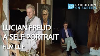 THE SITTER MAKES THE PAINTING | Lucian Freud: A Self Portrait (2020) | Film Clip