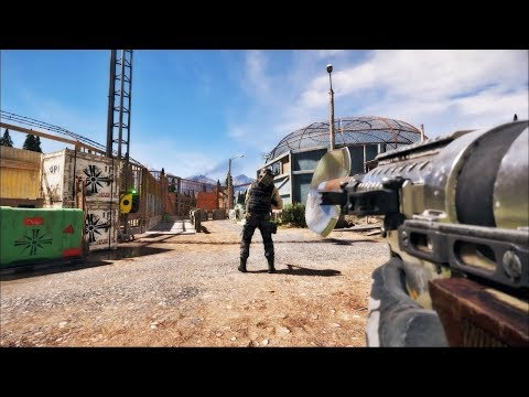 Far Cry 5 Stealth Kills (Badass Outpost Liberation)
