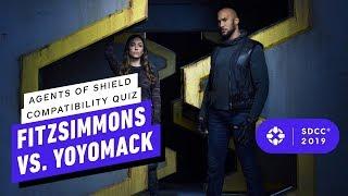 Agents of SHIELD Compatibility Quiz: FitzSimmons vs. YoYoMack - Comic Con 2019