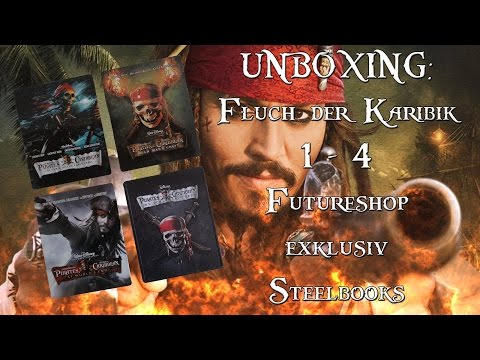 Unboxing - Fluch der Karibik - Teil 1 - 4 - Futureshop exklusiv Steelbooks