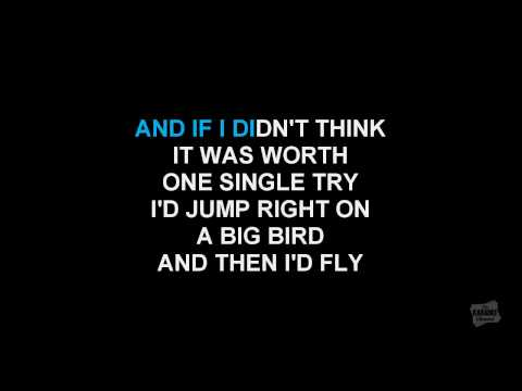 That's Life in the style of Frank Sinatra karaoke video with lyrics (no lead vocal)