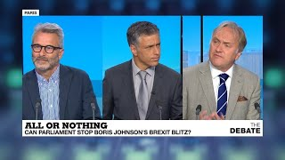 All or nothing: Can parliament stop Boris Johnson's Brexit blitz?