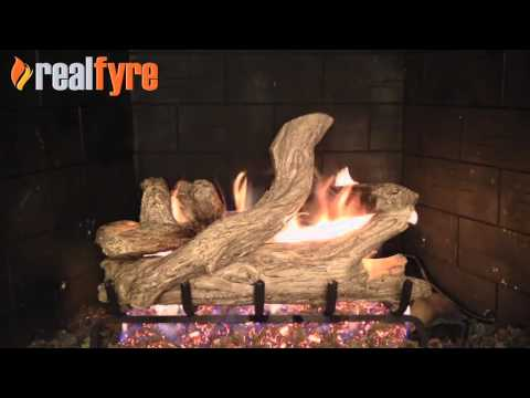 Peterson Coastal Driftwood Gas Logs Demonstration