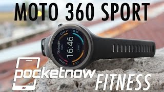 Moto 360 Sport Review - Pocketnow Fitness