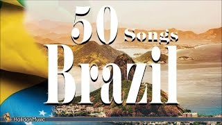 Brazil 50 Gana Bossa Nova Samba Latin Jazz Música Popular Brasileira