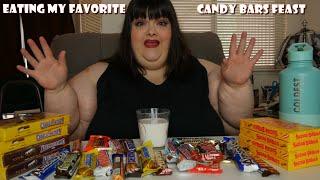 Eating My Favorite Candy Bars Mukbang