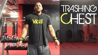 FST7 Chest Workout by Hany Rambod with Shoulders and Triceps