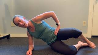 Side Plank Clam Variation