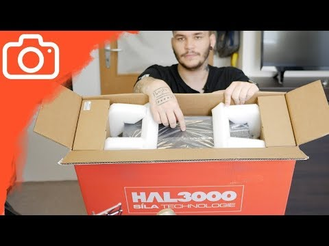 UNBOXING POČÍTAČE OD HAL3000!