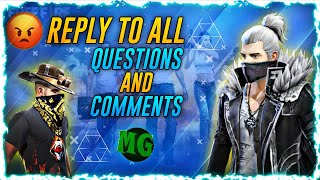 replay to all questions // ok // srm gaming tamil