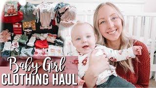 FALL BABY GIRL HAUL | CARTERS, OLD NAVY, TARGET, WALMART
