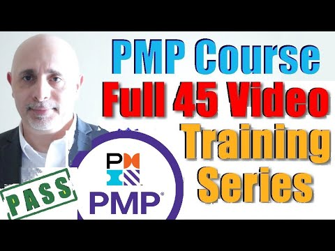 PMP Training Videos 2021 | Full PMP Certification Exam Prep Course