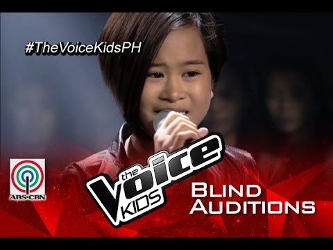 Анна Седокова - The Voice Kids Philippines 2015 Blind Audition: «Wrecking Ball»
