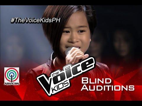 Kodak Black - The Voice Kids Philippines 2015 Blind Audition: «Wrecking Ball»