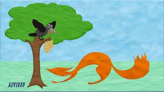 Пластилиновое видео Ворона и Лисица
