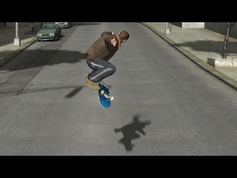 Guy Turns Grand Theft Auto Into Tony Hawk's Pro Skater
