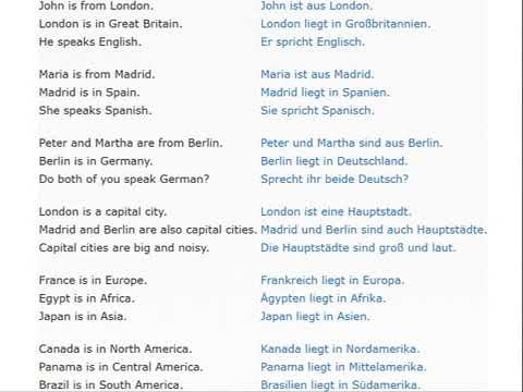 GERMAN full course 100 lessons FREE + TEXT