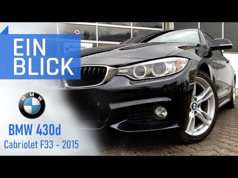 BMW 430d 2015 (F33) Cabrio - Sollte man Diesel auch offen fahren? Vorstellung, Test & Kaufberatung