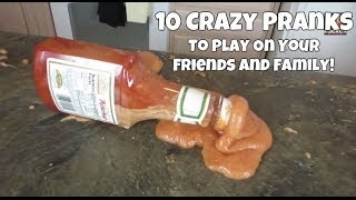 10 Crazy Pranks To Play On Your Friends And Family! Part #5