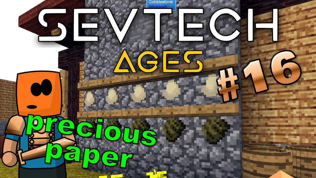Minecraft - Making Parchment and the Astral Tome - SevTech Ages #16