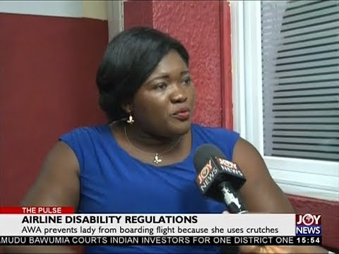 Airline Disability Regulations - The Pulse on JoyNews (7-5-18)