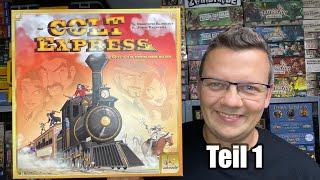 Colt Express (Ludonaute / asmodee) inkl. gameplay - Teil 1 - Spiel des Jahres 2015