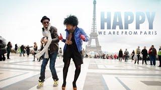 HAPPY in Paris !