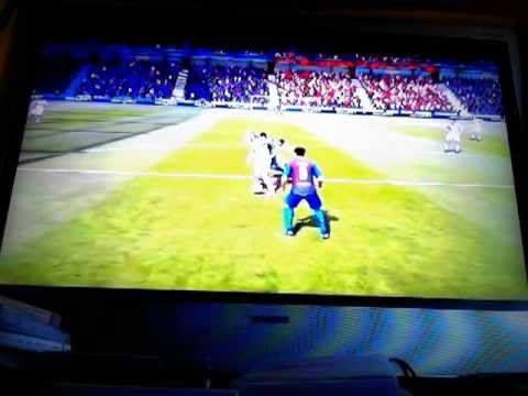 NEW *FIFA 12* GAMEPLAY - FC Barcelona vs Milan 2011 - WORST DIVE EVER!