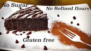 sugar and flour free cake recipes