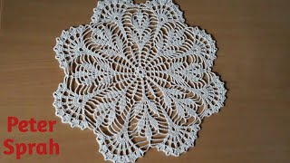 How To Crochet 11 Doily