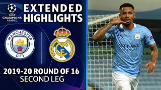 Manchester City vs. Real Madrid   CHAMPIONS LEAGUE Highlights   UCL on CBS Sports