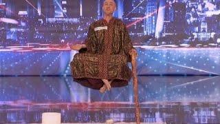 incredibile magia levitazione mostrato in diretta su