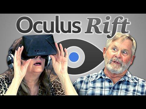 Důchodci reagují na Oculus Rift