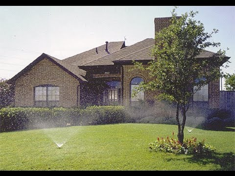 RAIN BIRD Sprinkler System DIY Do It Yourself installation