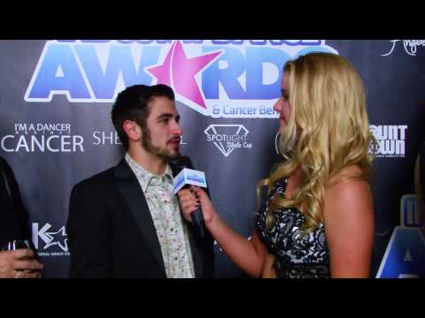 "Industry Dance Awards red carpet - 2014 FOX's ""So You Think You Can Dance"" winner Ricky Ubeda"