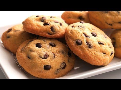Galletas con Chips de Chocolate | Chocolate Chip Cookies