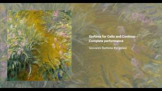 Sinfonia for Cello and Continuo