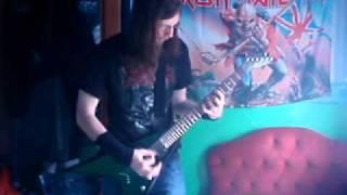 Kreator-Terrible certainty guitar cover