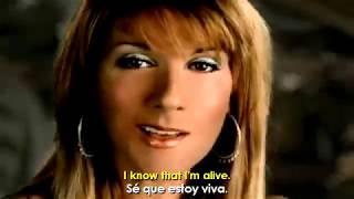 "Video thumbnail of ""Celine Dion - I'm Alive (Letra Traducida)"""