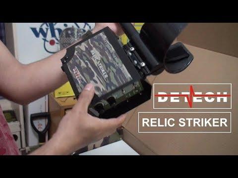 Desembalamos Detech Relic Striker y vemos todo el contenido